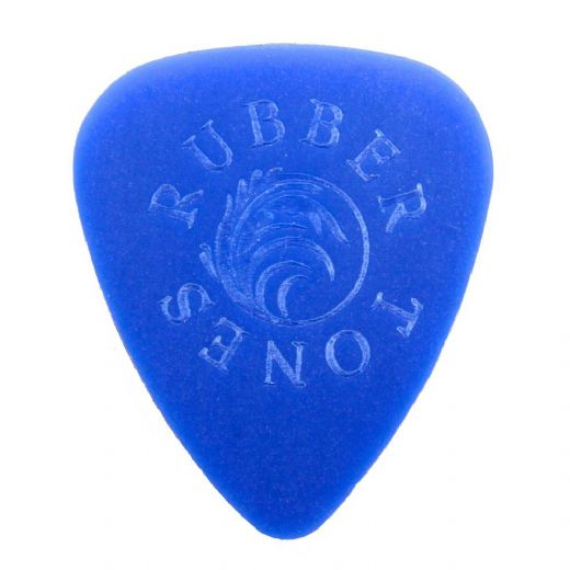 Rubber Tones Blue Silicon 1 Pick